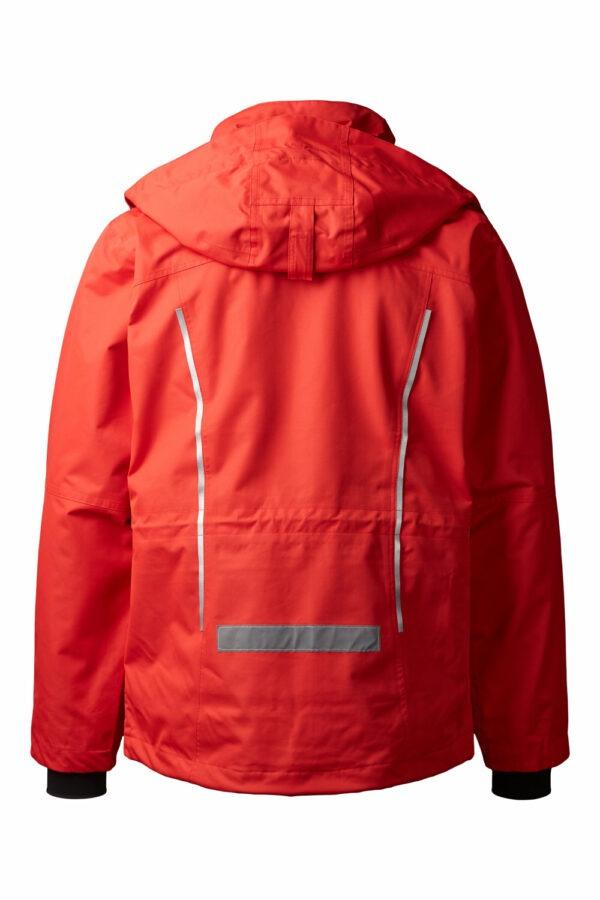 99045-4 xplor zip-in skaljakke unisex rød 4000 bag