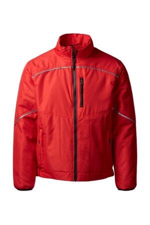 5100 xplor quiltet jakke unisex rød 4000 front