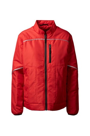 5200 quiltet jakke dame rød 4000 front