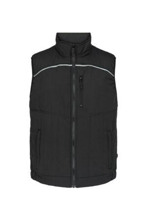 5900 Xplor Quiltet vest sort front