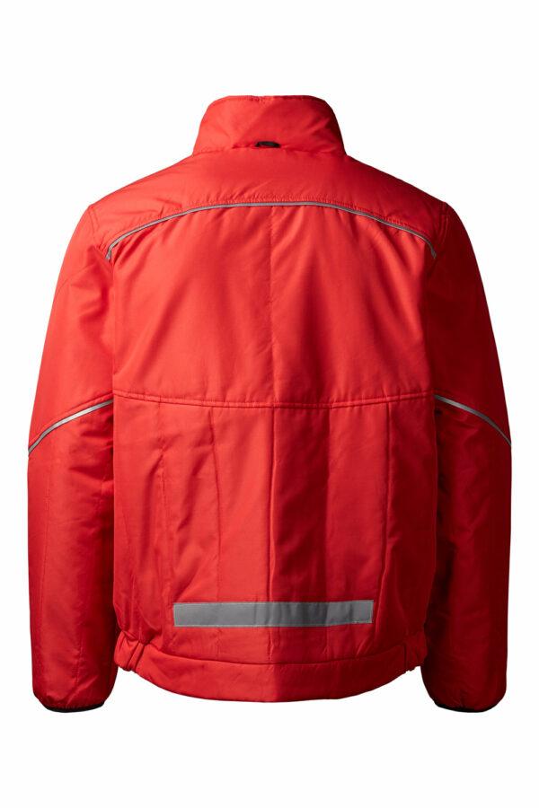 5100 xplor quiltet jakke unisex rød 4000 bag