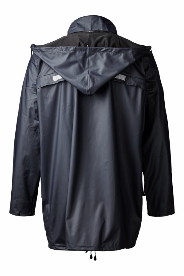 99190 xplor regnjakke unisex navy 5000 bag