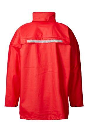 99190 xplor regnjakke unisex rød 4000 bag
