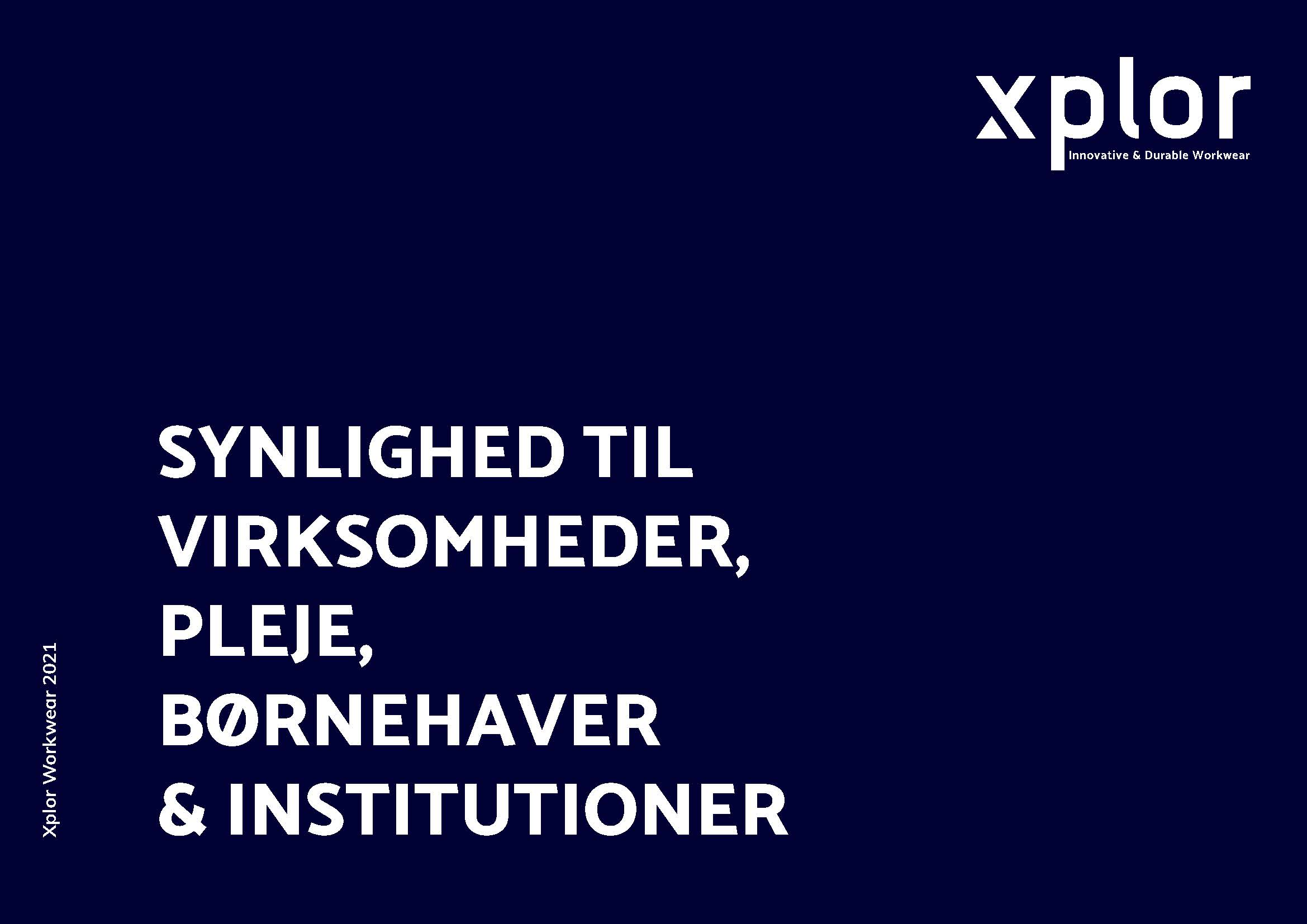 xplor katalog til institutioner