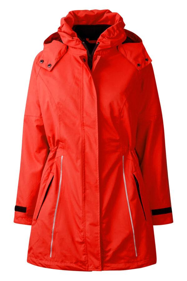99044-4 xplor zip-in skaljakke rød front
