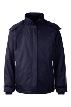 99045-4 xplor zip-in skaljakke unisex navy front