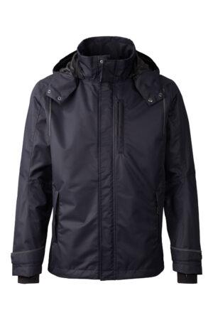 99065_xplor_unisex_shell-jacket_navy-5000_front